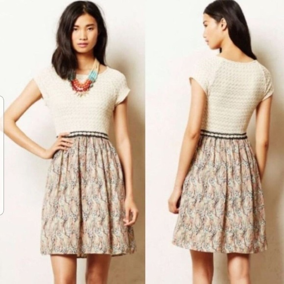 Anthropologie Weston Arcata Dress Size XS